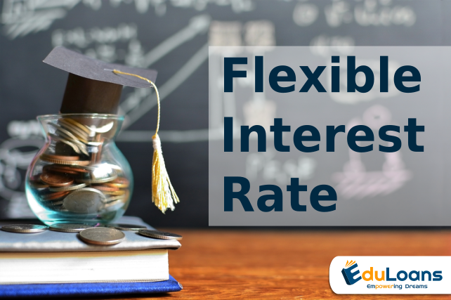 What is the interest rate flexibility offered by education Loan?