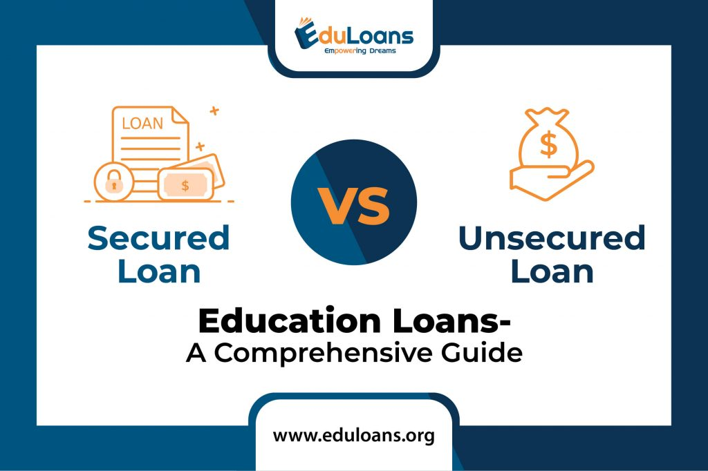 Secured vs. Unsecured education loans