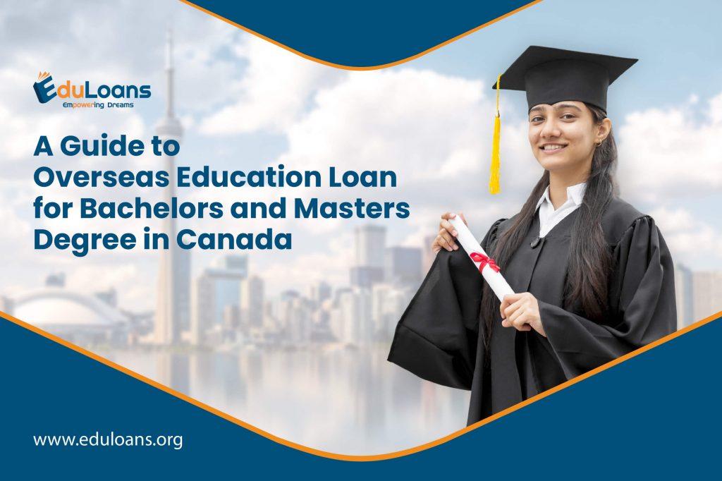 overseas education loan for Canada